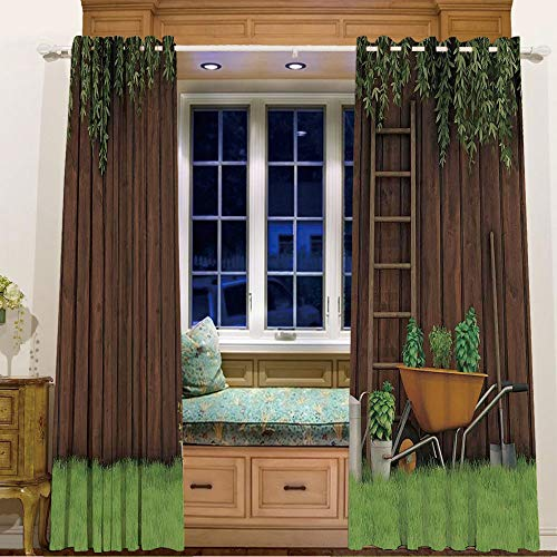 Finel Kids Curtains for Living Room Bedroom Window Curtains Baby Room,105