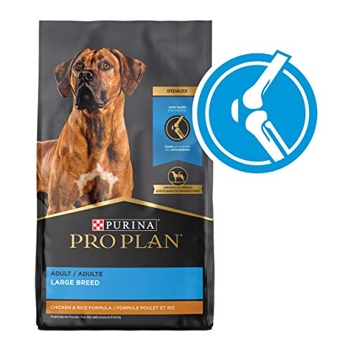 Purina Pro Plan Large Breed Dog Food, Joint Health for Dogs Chicken & Rice Formula – 34 lb. Bag