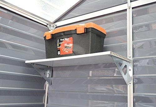 Palram Skylight Shelf Kit, Tan by Palram (Image #3)