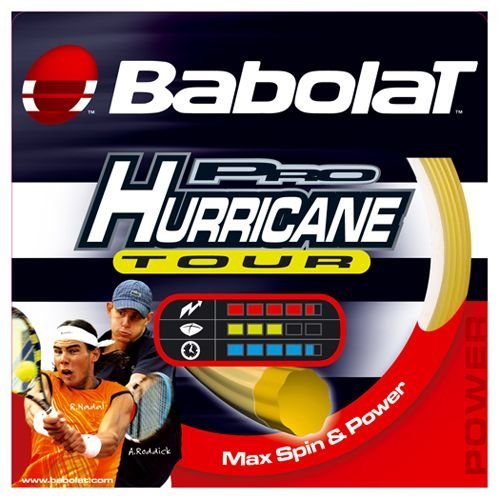 Babolat Pro Hurricane Tour 16G Tennis String (Babolat Hurricane Pro String)