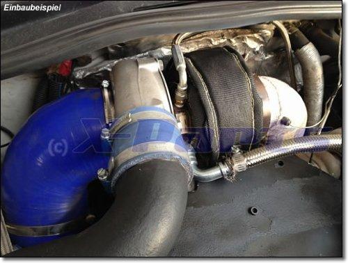 t4 Turbo protección de calor Garrett KKK Turbo gris cerámica 1200 °C PAMPERS: Amazon.es: Coche y moto