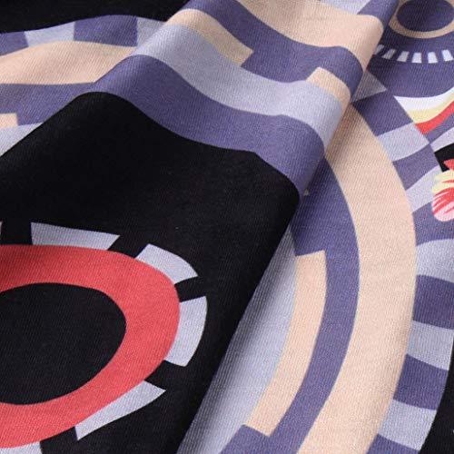 Logo Col boutonn Femme 3 Kanpola 4 Noir Manches Bandeau Chemisier Women Htapqa