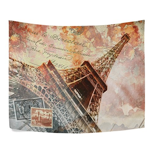 Eiffel Tower Paris Retro City Landmarks  House Decor