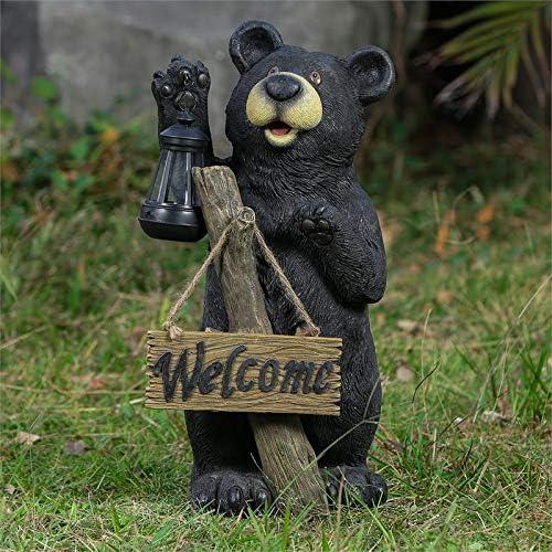 19.5″ Bear Garden Statue