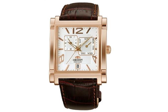 Reloj Orient Automático Caballero Clásico Elegante modelo 147-FETAC008W0