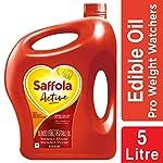 Saffola Active, Pro Weight Watchers Edible Oil, Jar, 5 L 9