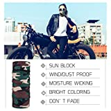 PAMASE 3pcs BLM Face Mask for Men&Women Motorcycle