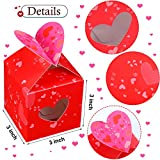9 Pieces Small Valentines Boxes Valentines Hearts