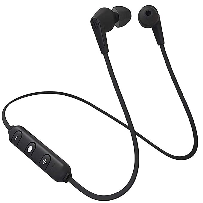 3ccada31459 Image Unavailable. Image not available for. Color: Urbanista MADRID  Wireless Bluetooth Earphones - Dark Clown Black