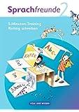 """Sprachfreunde - Ausgabe Nord/Süd 2010: 2. Schuljahr - 5-Minuten-Training """"Richtig schreiben"""": Arbeitsheft"""