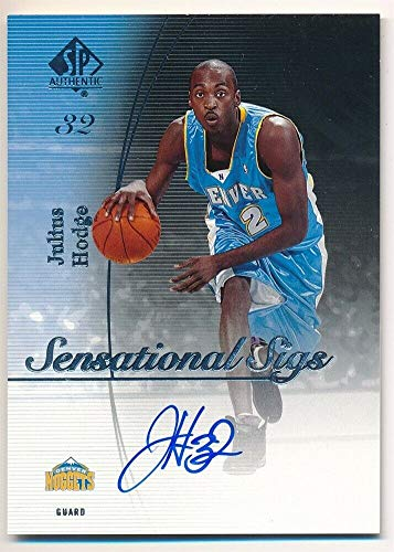 BIGBOYD SPORTS CARDS Julius Hodge 2005/06 SP Authentic Sensational SIGS Autograph Nuggets AUTO F5