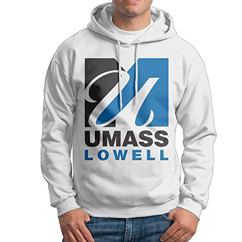 UMass Lowell UMass Lowell Public Research University College Pullover Political Men White