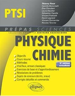 Physique Chimie PTSI (Prépas Sciences)