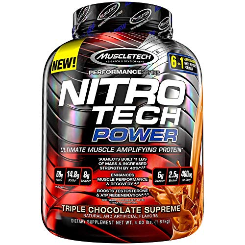 MuscleTech-Nitro-Tech-Power-Whey-Protein-Powder-Musclebuilding-Formula-Triple-Chocolate-Supreme-4-Pounds