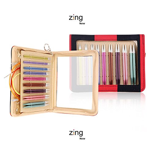 Knitter's Pride Zing Deluxe Interchangeable Needles Set- by Knitter's Pride