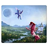 26x21cm 10x8inch Mousepad cloth - rubber nonslip backing mouse My Little Pony Friendship Is Magic