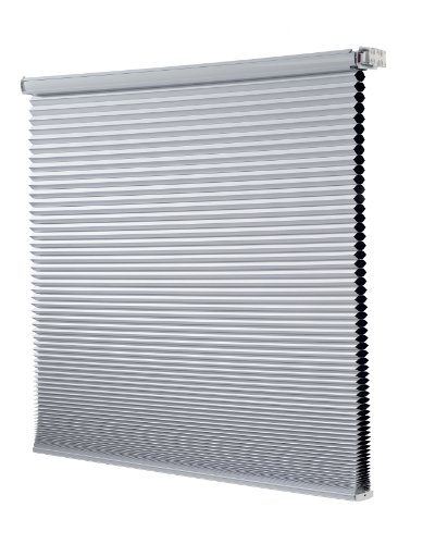 UPC 750227742435, Redi Shade Z14C4241400 Simple Fit Made to Width Custom Cordless Honeycomb Cellular Shades, 42 1/2 -Inch by 72-Inch, Snow Blackout