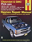 HAYNES REPAIR MANUAL for CHEVY PICK-UP NUMBER 24065 [Automotive]