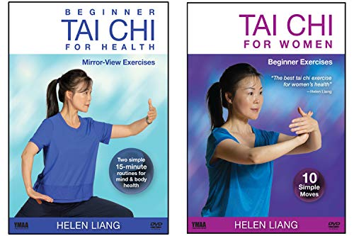 Bundle: Beginner Tai Chi for Women's Health 2-DVD (YMAA) Helen Liang **Tai Chi DVD Bestseller**