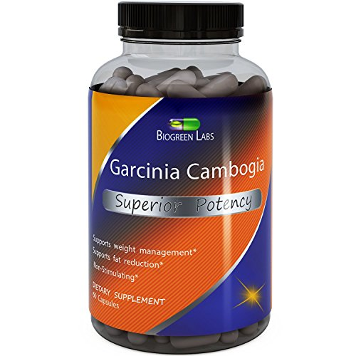 Biogreen Labs 95% HCA Garcinia Cambogia Extract - Weight Los