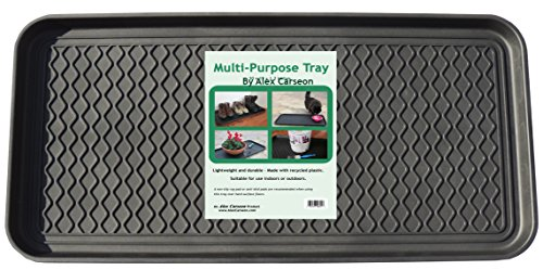 - Alex Carseon Multi-purpose Tray, 30x15x1.2 Inches