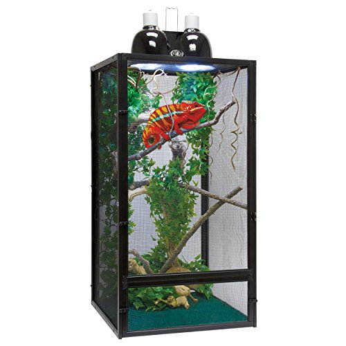 Screen Reptile Cage - Zoo Med ReptiBreeze Chameleon Kit