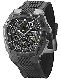Mostro MKII Swiss Made Hexagonal LE 99 PCS- Black Case Black Strap Yellow Accents