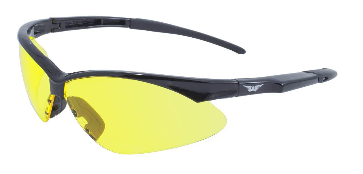 Global Vision Eyewear Fast Freddie Safety Glasses, Smoke Lens Fast Fred SM