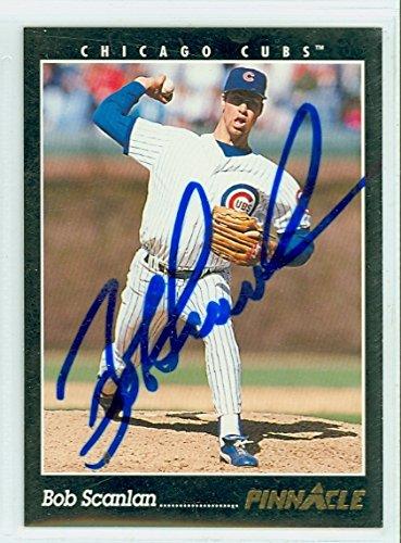 (Bob Scanlan AUTOGRAPH 1993 Pinnacle Chicago Cubs)