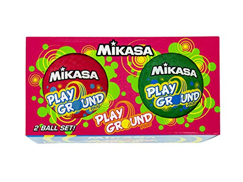 Used, Mikasa Two Pack P500 Playground Balls for sale  Delivered anywhere in USA