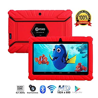 "Contixo Kids Tablet K2 | 7"" Display Android 6.0 Bluetooth WiFi Camera Parental Control Children Infant Toddlers Includes Tablet Case"
