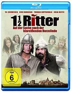 1 1/2 Knights - In Search of the Ravishing Princess Herzelinde ( 1 1/2 Ritter - Auf der Suche nach der hinreißenden Herzelinde ) ( One and a Half Kn [ NON-USA FORMAT, Blu-Ray, Reg.B Import - Germany ]