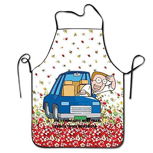 Only Thing Love More Than Being A Truck Driver Dad Fashion Apron Cooking - Driver Cooking Truck