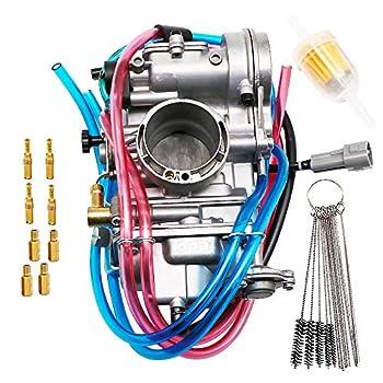 Image of Carburetors KIPA Carburetor For YAMAHA YFZ450 YFZ450V YFZ 450 2004-2009 Honda CRF450R KEIHIN FCR40 FCR 40mm, KAWASAKI KX450F 2006-2009 KLX450R 2008-2009