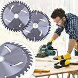 Labu Store 6inch TCT Woodworking Circular Saw Blade Cemented Carbide Cutting Blade General Purpose for Hard Soft Wood Power Tool