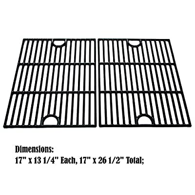 Direct store Parts DC104 Porcelain Cast Iron Cooking grid Replacement Kenmore,Uniflame,K-Mart,Nexgrill,Uberhaus Gas Grill