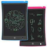 KURATU 2 Pack LCD Writing Tablet, 8.5 inch Electronic Drawing Pads for Kids, Portable Reusable Erasable Ewriter, Elder Message Board,Digital Handwriting Pad Doodle Board for School, Fridge or Office Reviews