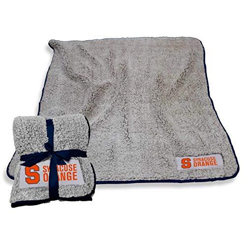 (Logo Syracuse Orange NCAA Frosty Fleece 60 X 50 Blanket - Team Color,)