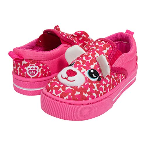 Build A Bear 3D Pink Leopard Girl Shoes -