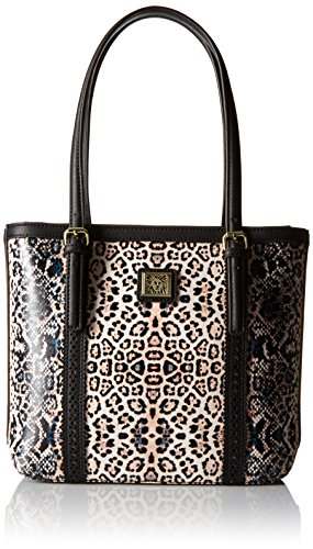 Anne Klein Perfect Tote Small Shopper, Pink/Multi/Black/Black