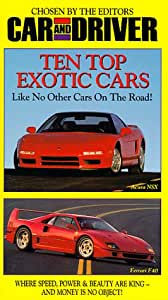 top ten exotic cars vhs car driver movies tv. Black Bedroom Furniture Sets. Home Design Ideas
