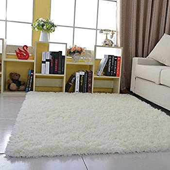 hanyun super soft modern living room bedroom anti skid shag area rug carpet 4 - Carpet Bedroom