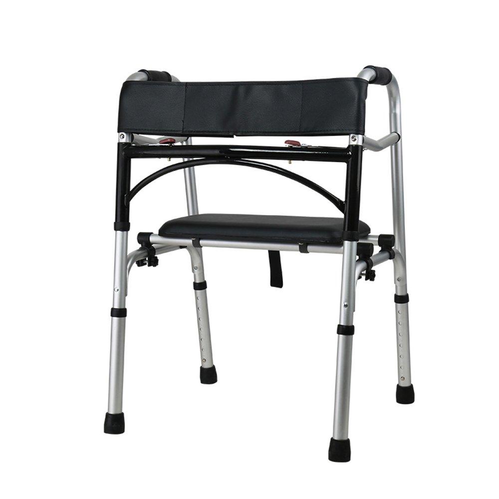トイレシート 老人ウォーキング4脚を助ける移動性障害のブースター助手席のシートベルトフレームの車輪を歩く助手席 (色 : C) B07D8FFV1Y C C