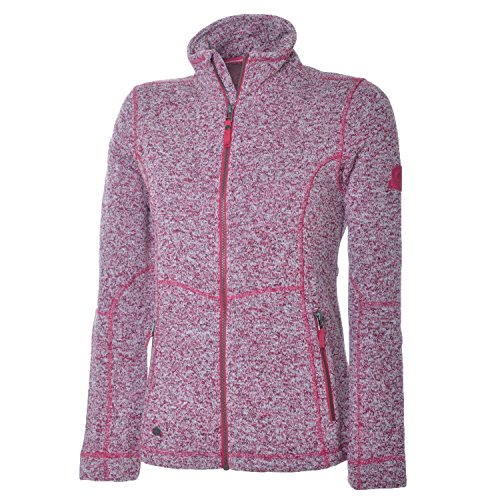 McKINLEY Damen Fleece-Jacke Kipapa Fleecejacke, Pink Dark, 40