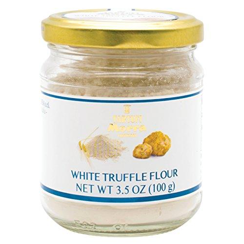TARTUFALBA Italian White Truffle Flour - Tartufi MORRA from Alba - Farina di Tratufo - 3.5 OZ - 100 Gr by Tartufi Morra - Tartufalba