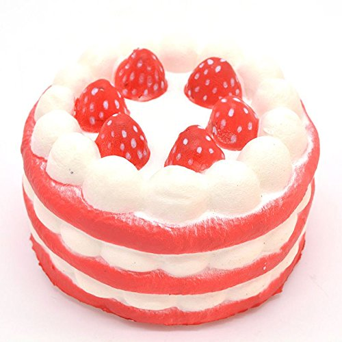jumbo-squishy-birthday-strawberry-round-cake-amazing-slow-rising-scented