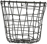 Skalny 84718 8'' Dx8 Round Metal Wire Basket