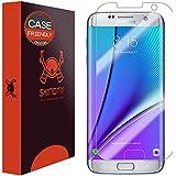 Galaxy S7 Edge Screen Protector, Skinomi® TechSkin (Updated Version)(Case Friendly) Full Coverage Screen Protector for Samsung Galaxy S7 Edge Clear HD Anti-Bubble Film - with Lifetime Warranty