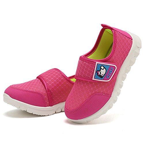 CIOR Kid's Mesh Lightweight Sneakers Baby Breathable Slip-On For Boy and Girl's Running Beach Shoes(Toddler/Little Kid) 36