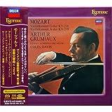 エソテリック SACD モーツァルト:ヴァイオリン協奏曲第3番/第5番<<トルコ風>>/協奏交響曲 サー・コリン・デイヴィス・・・グリュミオーとデイヴィス~類まれなモーツァルティアンの邂逅が生んだ、モーツァルトの理想像。